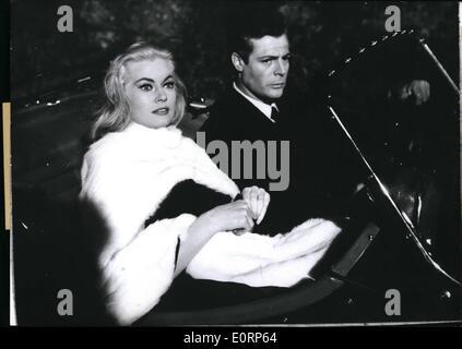 Apr. 04, 1960 - ''La Dolce Vita'' is the name of Federico Fellini's new film which had its brilliant premiere in - Stock Photo