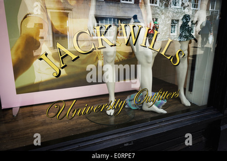 Jack Wills fashion clothing store, England, UK - Stock Photo