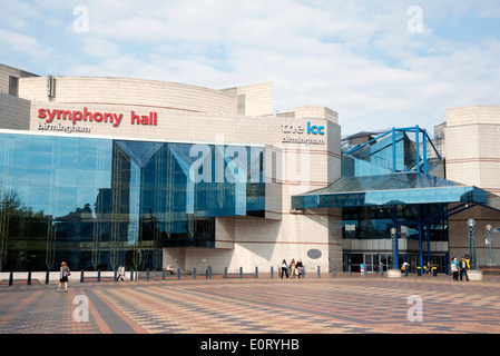 Symphony Hall & ICC in Birmingham City Centre, UK. - Stock Photo