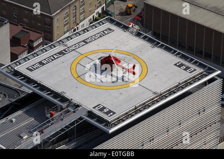 Helicopter Landing On A Roof Stock Photo 6045321 Alamy