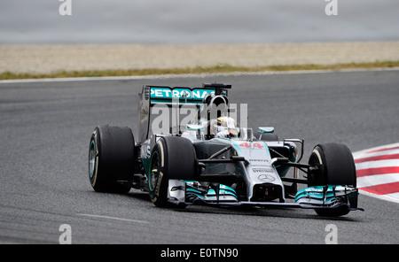 Formula One Grand Prix of Spain 2014 ---- Lewis Hamilton (GBR), Mercedes-Benz F1 W05