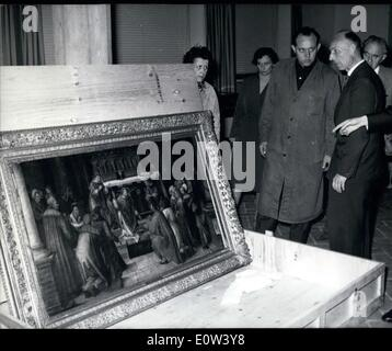 Jun. 06, 1961 - ''Masters around Albrecht Durer'' : The exhibition ''Masters around Albrecht Durer'' is probably - Stock Photo