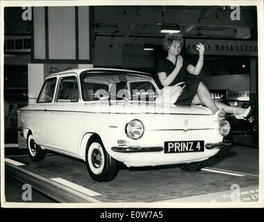 Oct. 10, 1961 - Motor Show Opens At Earl's Court The Motor Show opened this morning at Earl's Court in London. Photo - Stock Photo