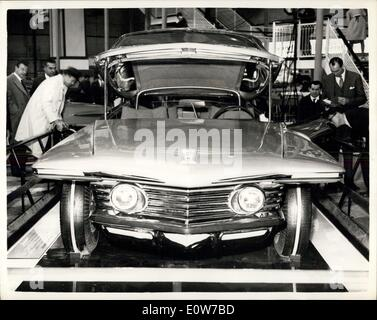 Oct. 17, 1961 - Motor Show Opens at Earl's Court - The Motor Show Opened This Morning at Earl's Court, London - - Stock Photo