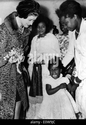 Princess Alexandra visits the Kwety Social Center for East African Women - Stock Photo