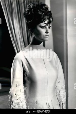 Jan. 01, 1963 - Claudia Cardinale, David Niven, famous English actor Peter Sellers, Robert Wagner, French actress - Stock Photo