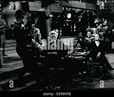 Jan. 01, 1963 - Rome, January 1963 - Claudia Cardinale, David Niven, Famous English actor Peter Sellers, Robert - Stock Photo