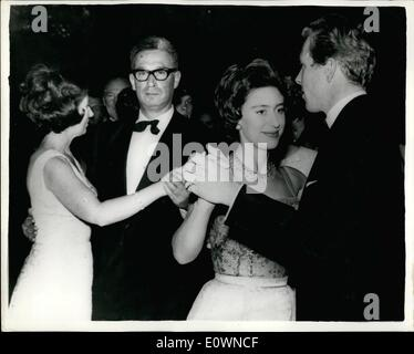 Oct. 10, 1963 - The London Hilton Hotel was the scene of a charity ball last night in aid of the Invalid Children's - Stock Photo