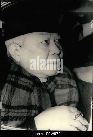 Nov. 18, 1963 - Ngo Dinh Nhu (pictured), brother of the South Vietnamese President Diem, was found dead along with - Stock Photo