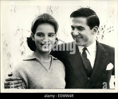 Mar. 03, 1964 - King Of Greece Dies.New King And Future Queen: 62-year-old King Paul of the Hellenes died in Athens - Stock Photo