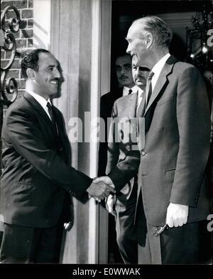 May 05, 1964 - KUWAIT MINISTER SEM SIR ALEC. SHAIKH SABAH AL ABNAD, the KUWAIT Foreign Minister is in London for - Stock Photo