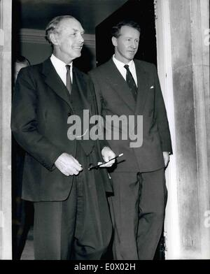 Sep. 09, 1964 - The Prime Minister Of Southern Rhodesia Visits Sir Alec Douglas-Home: Mr. Ian Smith, the Prime Minister - Stock Photo