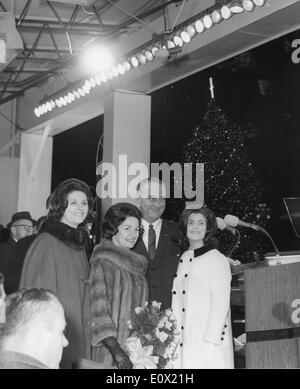 Dec. 22, 1964 - Washington, District of Columbia, U.S. - LYNDON BAINES JOHNSON (August 27, 1908 - January 22, 1973) - Stock Photo