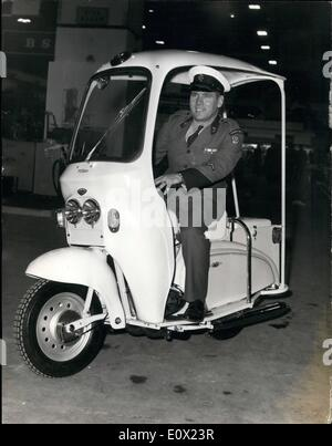 Nov. 11, 1964 - International Cycle and Motor Cycle Show at the Earls Court. The Deemster ''Hardtop''.: A press - Stock Photo