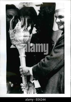 Nov. 11, 1964 - India Commemorates 75th. Anniversary Of The Birth Of Nehru: Mr. Lal Bahadur Shastri - India's Prime - Stock Photo