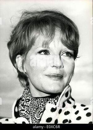 Feb. 10, 1966 - Petula Clark in Switzerland - Stock Photo