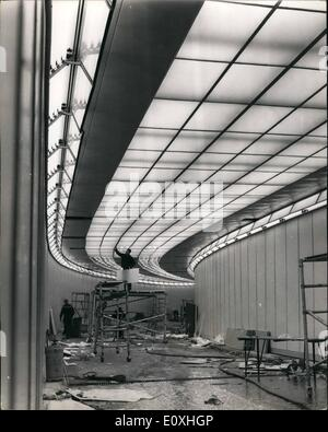 Jan. 01, 1967 - Strand Underpass Nears Completion. The newly designed completed Strand Underpass which is designed - Stock Photo