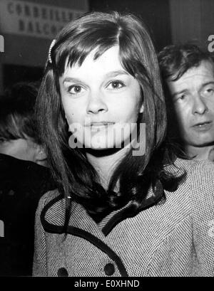 Actress Genevieve Bujold at the Cannes Film Festival - Stock Photo