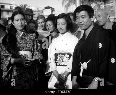 Japanese introduce film at Cannes Film Festival - Stock Photo