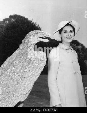 July 11, 1967 - London, England, United Kingdom - LYNDON BAINES JOHNSON (August 27, 1908 - January 22, 1973) often - Stock Photo