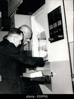 Jul. 07, 1967 - Postmaster general opens postal Fortnight, 1967. Following the success of the Postal week held in - Stock Photo