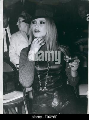 apr. 04, 1968 brigitte bardot & gunther sachs present