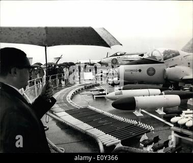 Sep. 09, 1968 - Flying display for V.I.P.'s at Farnborough; Today was V.I.P's day at the Farnborough Air Show were - Stock Photo