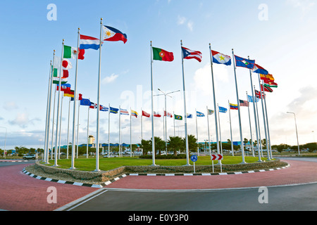Flags from the world - Stock Photo