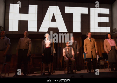 Photocall for the play '1984' by George Orwell, Playhouse Theatre, London, UK - Stock Photo