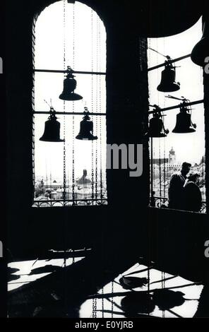 Jul. 21, 1970 - The world-famous chimes of Salzburg... ... will be ringing again during the coming weeks for thousands - Stock Photo