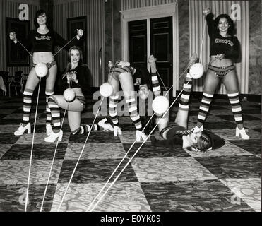 Aug 05, 1970 - London, England, United Kingdom - Pan's People were a British TV dance troupe, who are best associated - Stock Photo