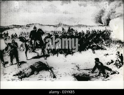 Aug. 08, 1970 - A Hundred Years Ago The Battle Of Sedan; A hundred years ago, on September 1st, 1870, a decisive - Stock Photo