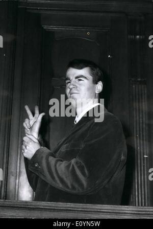 Nov. 11, 1970 - Ekkehard Weil before a British civil court in Berlin Today at the criminal Ekkehard Wail, who was - Stock Photo