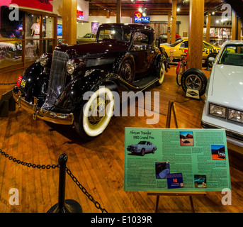 The Pontiac-Oakland Museum in Pontiac, Illinois, a town along Route 66 - Stock Photo