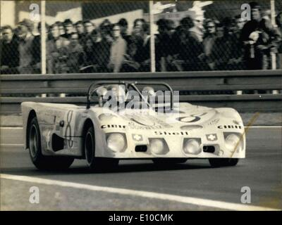 Jun. 11, 1972 - Joakim Bonnier in his Lola T280 in 24 Hours of Le Mans - Stock Photo