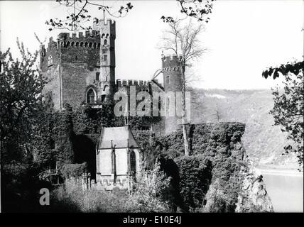 May 05, 1972 - German Castles are offered for sale in Japan A commercial house in Tokyo offers castles from the - Stock Photo