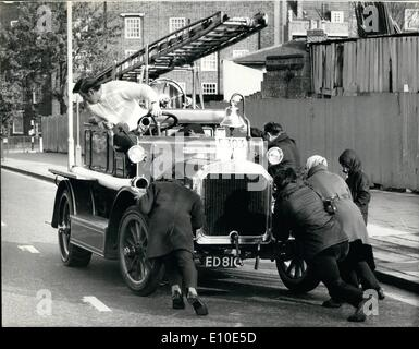 May 05, 1972 - Historic commercial vehicle club run from London to Brighton : About 180 vehicles took part in this - Stock Photo