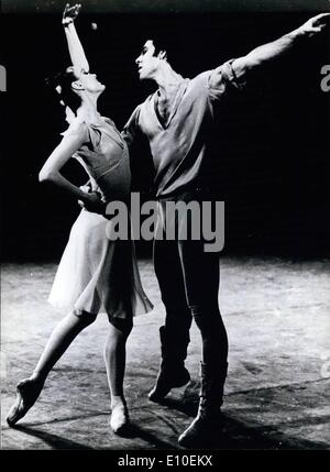 Aug. 08, 1972 - New York City Ballet at Munich on occasion of the Olympic cultural programm: A great event of note - Stock Photo