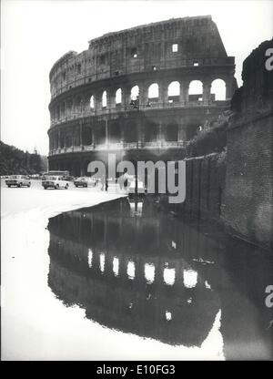 Sep. 09, 1972 - Colosseum in Rome closed - Stock Photo