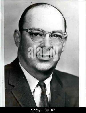 Oct. 10, 1972 - Second Nobel Prize for Prof. Bardeen; Professor John Bardeen, 64, of the University of Illinois, - Stock Photo