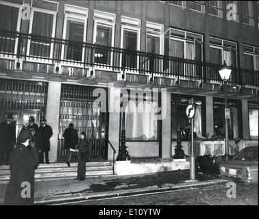 Oct. 10, 1974 - Bomb Blast Services Clubs in London's West End. Terror bombers attacked two crowded Services clubs - Stock Photo