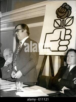 Mar. 03, 1975 - Labour campaign for Britain in Europe gets under way: Labour pro-marketeers launched their campaign - Stock Photo