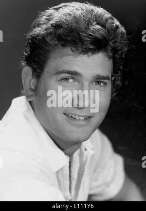 American actor, producer and director, MICHAEL LANDON, who starred in three popular NBC TV series - Stock Photo