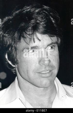 Portrait of actor Warren Beatty - Stock Photo