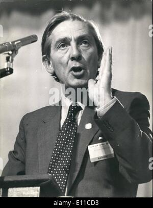 Sep. 09, 1976 - Len Murray Speaks The Tuc Conference At Brighton: Photo shows. Mr. Len Murray, Tuc General Secretary, - Stock Photo