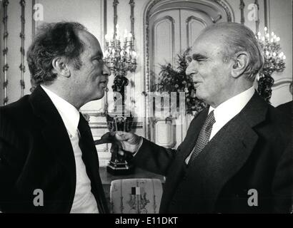 May 05, 1977 - Ministerial meeting of the North Atlantic Treaty Organisation London 10/11 May 1977: This photo is - Stock Photo