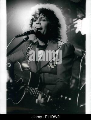 Sep. 09, 1977 - MARC BOLAN KILLED IN CAR CRASH. Rock singer MARC BOLAN, 29, was killed early this morning in a car - Stock Photo