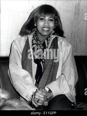 Feb. 02, 1978 - American Soul Singer Tina Turner In Britain: Tina Turner, who has been described by the critics - Stock Photo