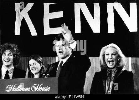 Apr 25, 1980 - New York, New York, USA - U.S. Senator Edward Moore 'Ted' Kennedy . - Stock Photo