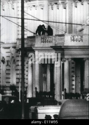 Iranian embassy siege was ended by an sas raid where sim harris stock photo royalty free image - Iran air office in london ...